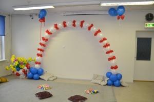 Õhupalli kaunistused loovad meeleolu!